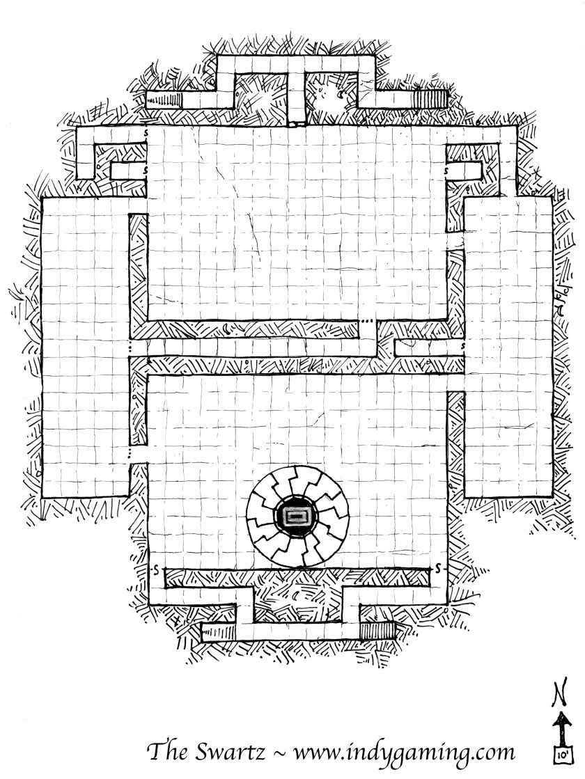 Tower of the Black Sun Map
