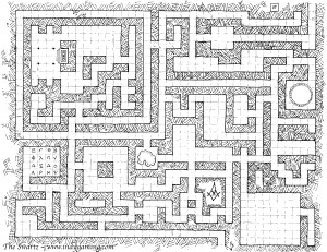 Maze Map Player Version