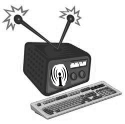 Building up the indymedia radio network for WSF
