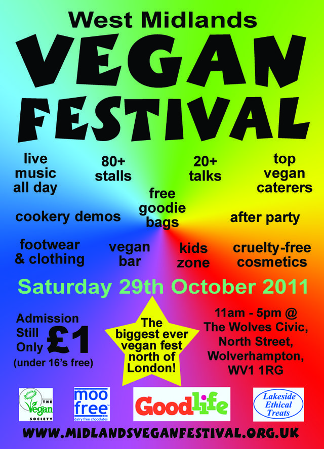 Please Help To Promote The W Mids Vegan Festival UK