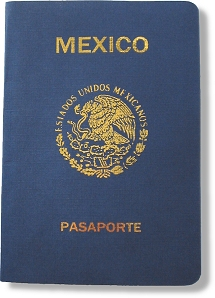 Mexican Passport Replica