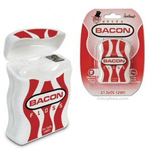 Bacon-floss