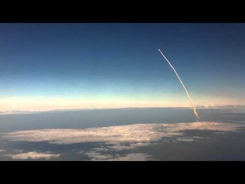 Space Shuttle Discovery's Last Launch, Viewed From the Air