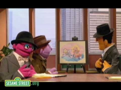 Mad Men's Don Draper Rules Madison Ave. and Sesame Street