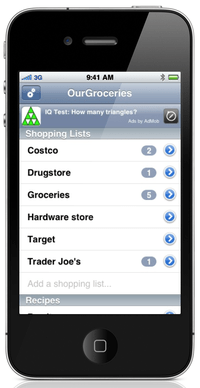 Review – Our Groceries App