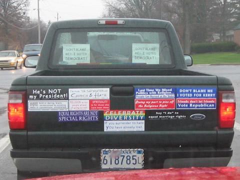 Bumper madness truck