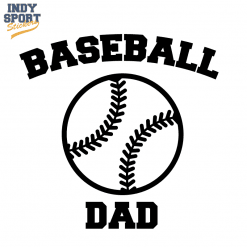 Softball Script Text and Tail with Right Fielder Text