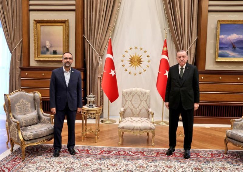İshak Sağlam - Recep Tayyip Erdoğan