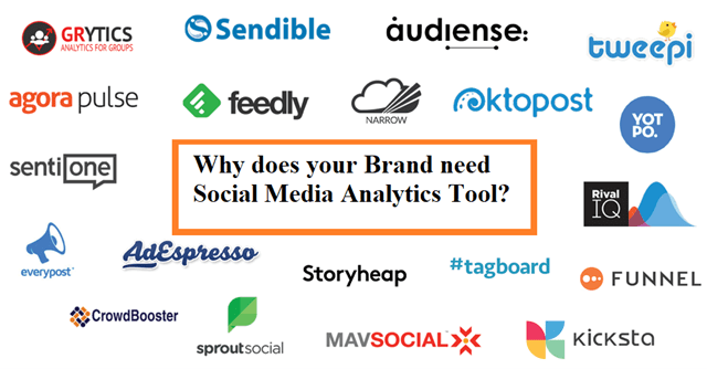 Why does your Brand need Social Media Analytics Tool? | Social Media Analytics Tools