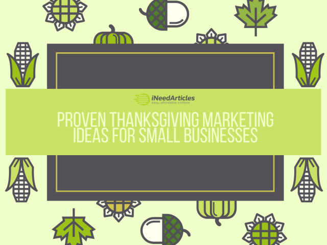 Proven Thanksgiving Marketing Ideas for Small Businesses - Featured