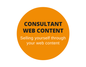 Web content for consultants