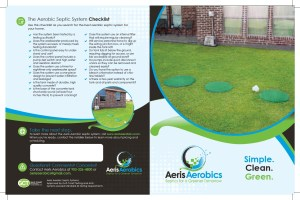 Example of a half-fold brochure for homeowners