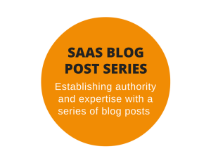 Blog post series for a SaaS company