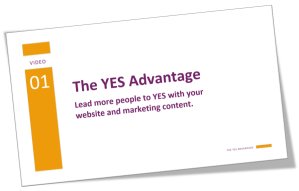 Improve your website FAST with The YES Advantage