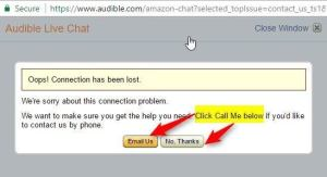 Confusion! Buttons do not match the call to action.