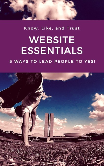 Know like trust Website Essentials: 5 ways to lead more people to YES