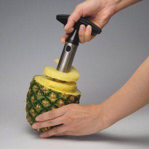 All Ware Stainless Steel Pineapple Easy Slicer