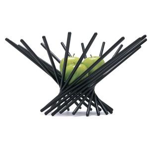 Satellite Fruit Bowl in Black12