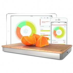 The Orange Chef Prep Pad- Smart Food Scale