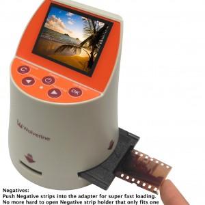 Wolverine 20MP 7-in-1 Film to Digital Converter