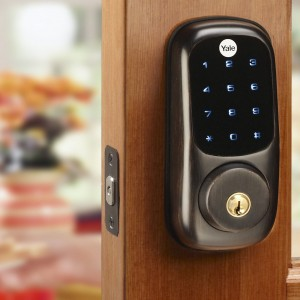 Yale Electronic Touch Screen Deadbolt