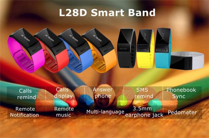 L28D Bluetooth 3.0, Smart Bracelet