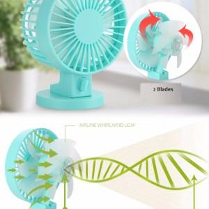 Mini Desk Fan, Portable Fan