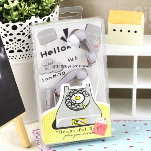 Miniso Telephone Receiver Shell Earphone