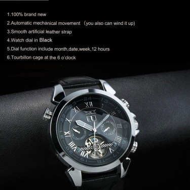 High Definition Automatic Jaragar Watch J218