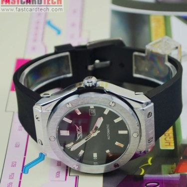 Men Automatic Leather Watch