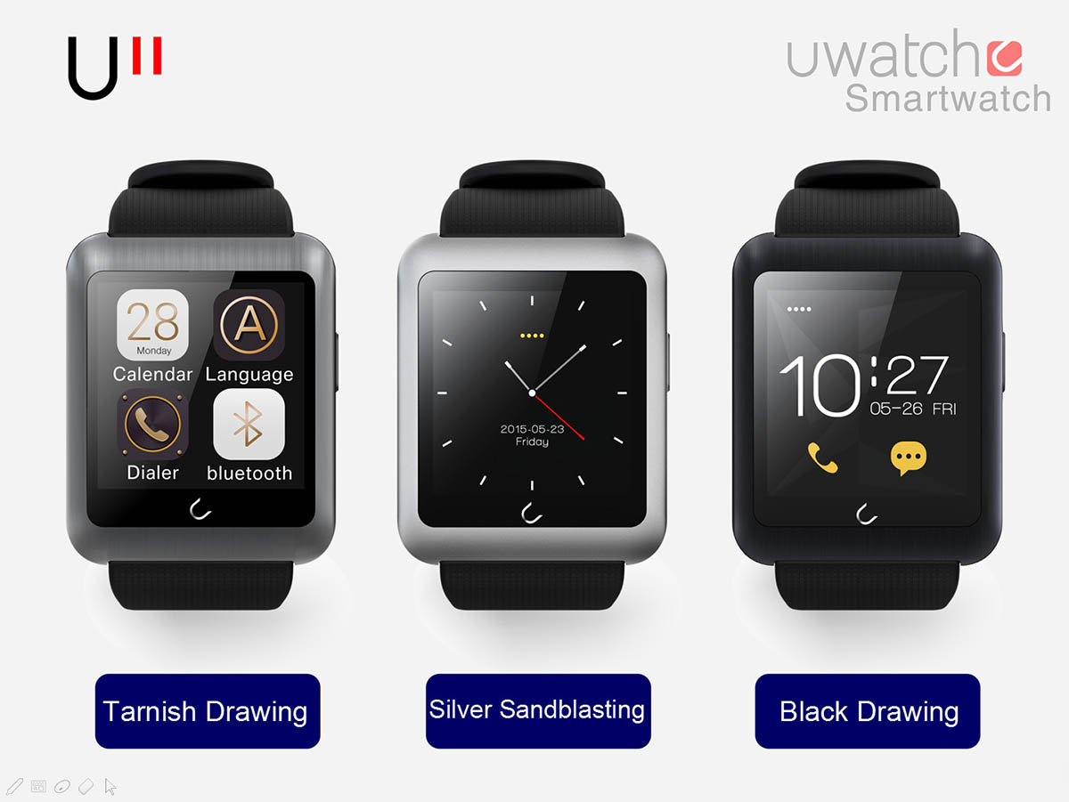 U WATCH U11 Bluetooth Smart Watch Phone