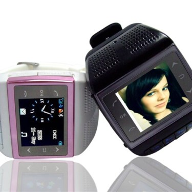 VE77/V6 Watch Phone Quad-band Dual