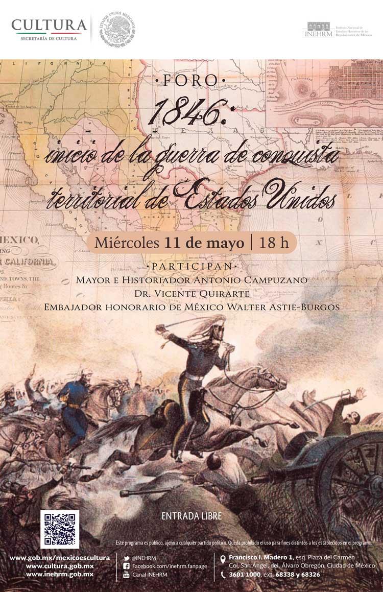 1846 la guerra entre Mxico y Estados Unidos