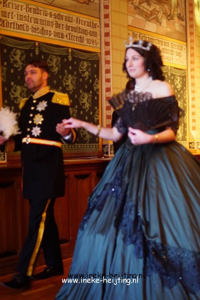 willem-iii-en-koningin-sophie-von-wurtemberg-1e-echtgenote-1855
