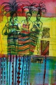 Mixed Media on Canvas $450