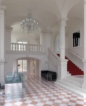 Iluminacja holu wejściowego i klatki schodowej, Angel Wawel