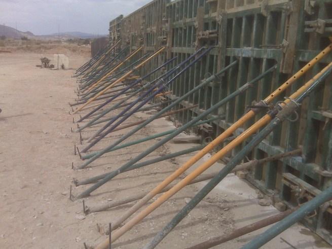 Construcción de muros de cerramiento de hormigón armado presupuesto en Alicante