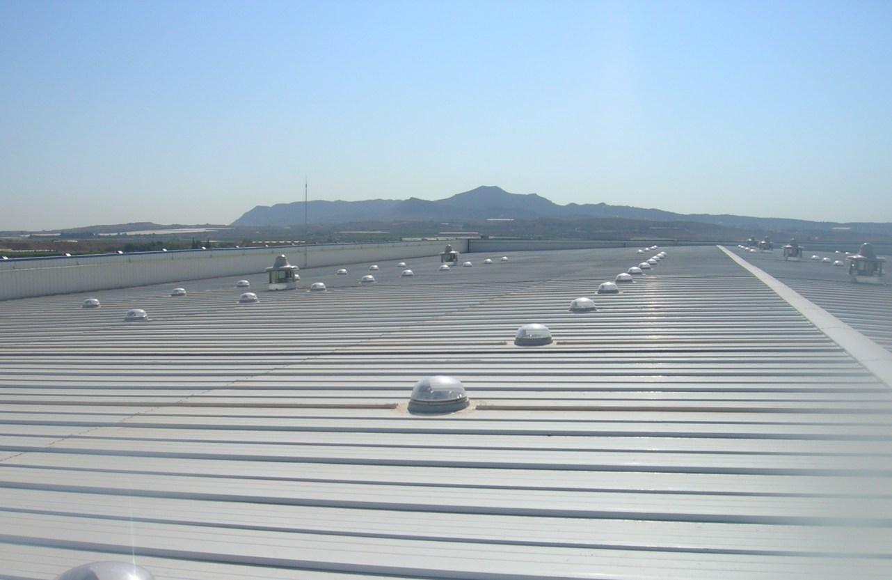 Construcción de cubiertas metálicas para naves industriales precio en Alicante