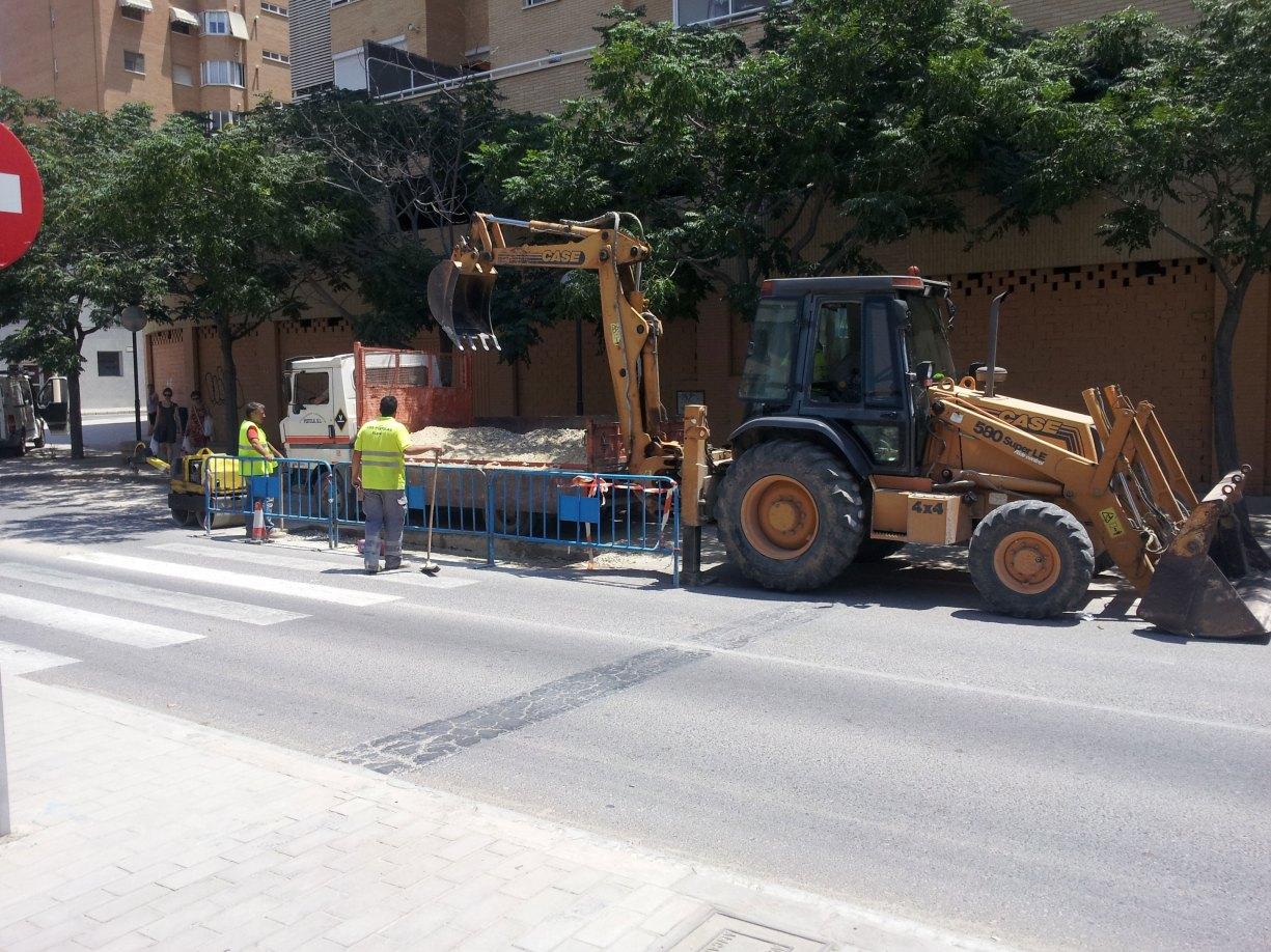 Empresa constructora de urbanización calles en alicante