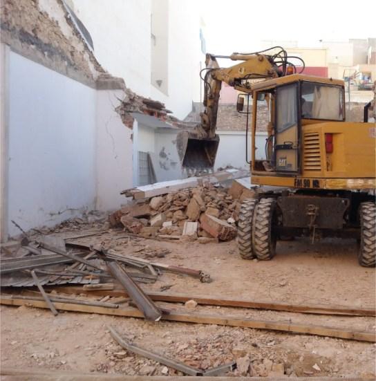 Empresa de demoliciones de edificaciones en Alicante presupuesto