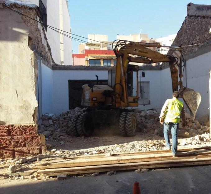 Empresa de derribos de viviendas de Alicante precio