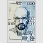 Breaking Bad Art Poster (12 x 18 inch)