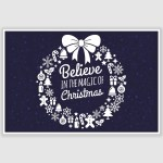 Magic of Christmas Poster (12 x 18 inch)