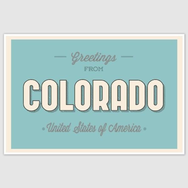 Colorado Poster (12 x 18 inch)