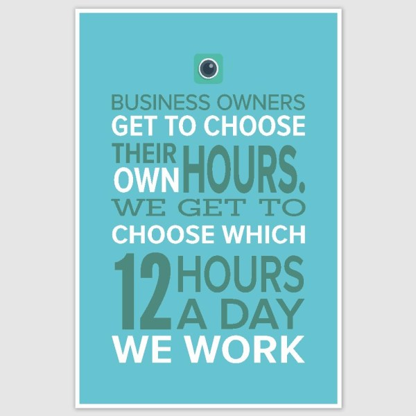Business Motivation Poster (12 x 18 inch)