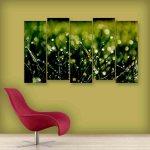 Multiple Frames Grass Wall Painting (150cm X 76cm)