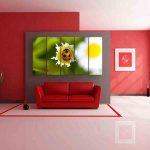 Multiple Frames Ladybug Wall Painting (150cm X 76cm)