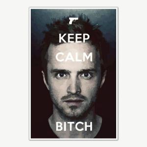 Keep Calm Bitch Breaking Bad Poster Art | Posters For Room
