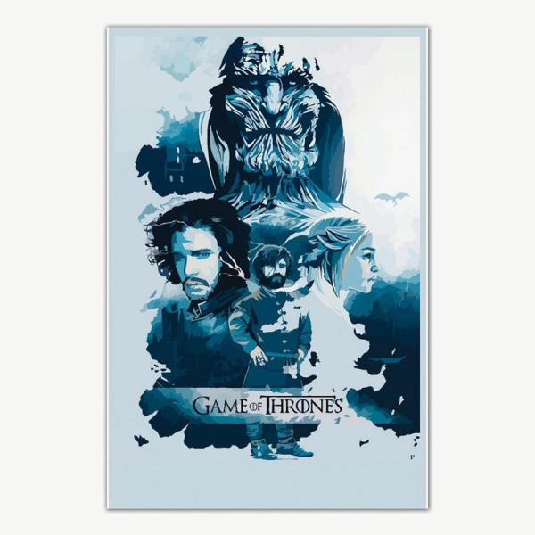 Game Of Thrones TV Series Poster For Room | TV Series Posters