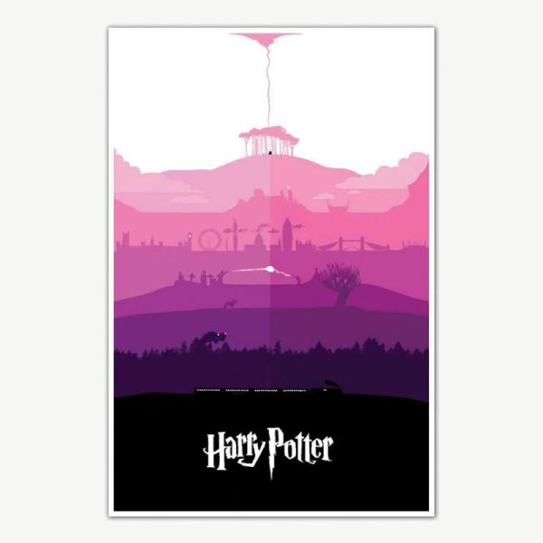 Harry Potter Movie Series Poster For Room   Movie Posters